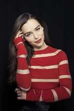 Preview iPhone wallpaper Emilia Clarke 07