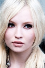 Preview iPhone wallpaper Emily Browning 02