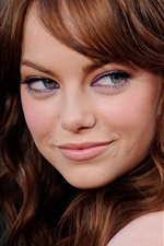 Preview iPhone wallpaper Emma Stone 06