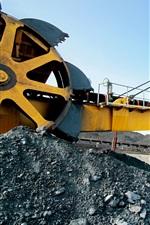 Preview iPhone wallpaper Engineering, conveyor, mining, huge machine