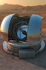 Preview iPhone wallpaper European extremely large telescope, science