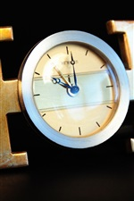 Hermes relógios, fundo preto