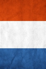 Preview iPhone wallpaper Holland flag