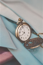 Preview iPhone wallpaper Pocket watch, chain