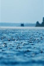 Preview iPhone wallpaper Rain, water, splash