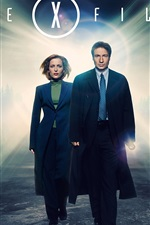 Preview iPhone wallpaper The X Files