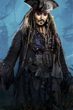 Preview iPhone wallpaper 2017 Disney movie, Pirates of the Caribbean: Dead Men Tell No Tales