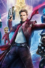 Preview iPhone wallpaper 2017 movie HD, Guardians of the Galaxy Vol. 2