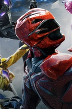Preview iPhone wallpaper 2017 movie, Power Rangers
