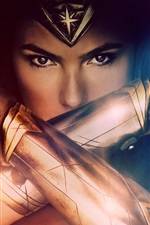 Preview iPhone wallpaper 2017 movie, Wonder Woman, Gal Gadot