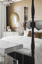 Vorschau des iPhone Hintergrundbilder Schlafzimmer, weißer Stil