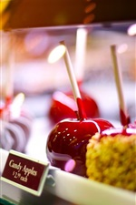 Preview iPhone wallpaper Candy apples