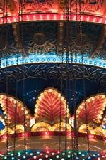 Carousel, lights