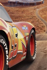 Preview iPhone wallpaper Cars 3, Disney movie 2017