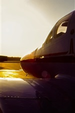 Preview iPhone wallpaper Cessna C3 airplane