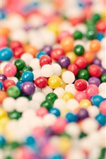 Preview iPhone wallpaper Colorful candy, balls