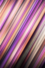 Preview iPhone wallpaper Colorful lines, shadow, abstract