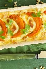 Preview iPhone wallpaper Delicious food, pumpkin pie