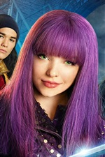 Preview iPhone wallpaper Descendants 2, Disney movie 2017