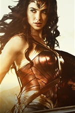 Preview iPhone wallpaper Gal Gadot, 2017 Wonder Woman
