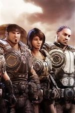 Gears of War, personagens do jogo
