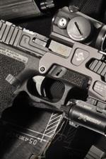 Preview iPhone wallpaper Glock 17 self-loading gun, weapon