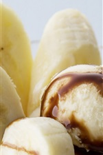 Preview iPhone wallpaper Ice cream and banana
