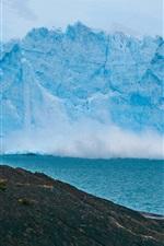 Preview iPhone wallpaper Iceberg, rocks, sea