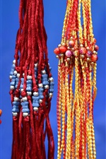 India, decoration, rope