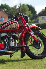 Preview iPhone wallpaper Indian red motorcycle