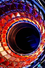 Preview iPhone wallpaper Large hadron collider, particle, technology