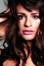 Preview iPhone wallpaper Lea Michele 02