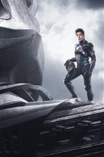Preview iPhone wallpaper Ludi Lin, Power Rangers