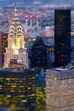 Preview iPhone wallpaper New York, buildings, skyscrapers, city views, USA
