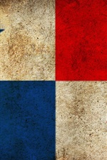 Preview iPhone wallpaper Panama flag