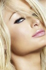 Preview iPhone wallpaper Paris Hilton 03