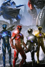 Preview iPhone wallpaper Power Rangers HD 2017