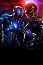 Vorschau des iPhone Hintergrundbilder Power Rangers, Superhelden