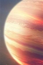 Espaço, universo, planeta vermelho, tiras