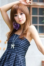 Summer dress Asian girl