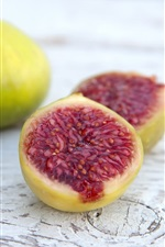 Preview iPhone wallpaper Sweet figs, fruit