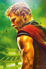 Preview iPhone wallpaper Thor: Ragnarok 2017