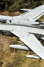 Preview iPhone wallpaper Tornado GR4 aircraft flight