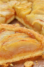 Preview iPhone wallpaper Apple pie