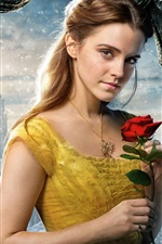 Preview iPhone wallpaper Beauty and the Beast 2017, Emma Watson