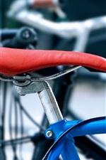 Preview iPhone wallpaper Bike, seat