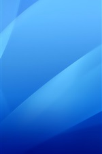 Preview iPhone wallpaper Blue abstract background, curve