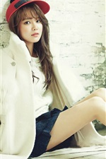Preview iPhone wallpaper Choi Sooyoung 01