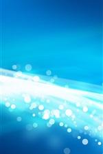 미리보기 iPhone 배경 화면 원, 광선, 파란 작풍