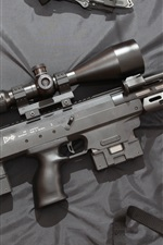 Preview iPhone wallpaper DSR-1 sniper rifle, weapon